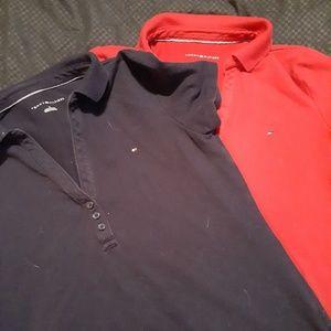 2 Tommy Hilfiger shirts